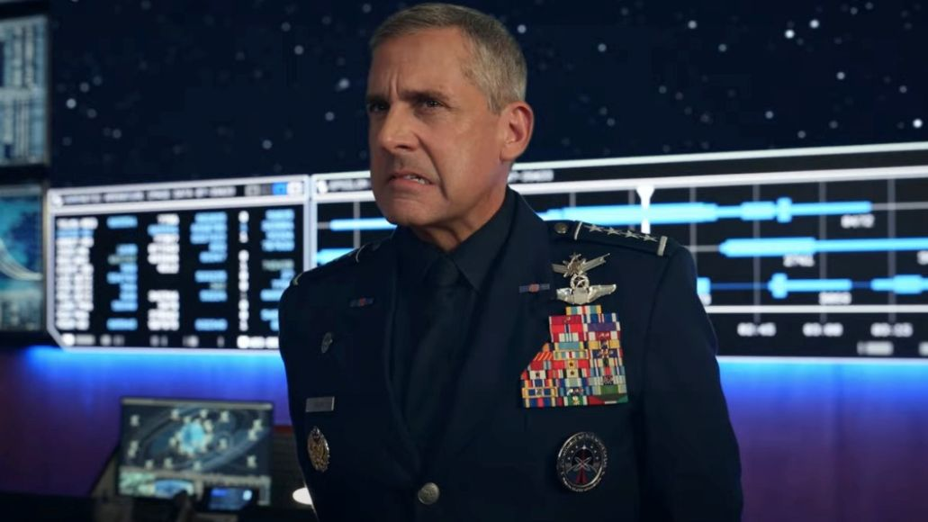 Steve Carell in Space Force
