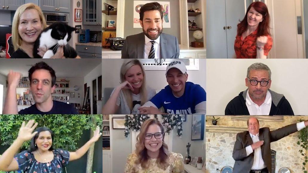 John Krasinski Reunites Office Cast for Virtual Wedding
