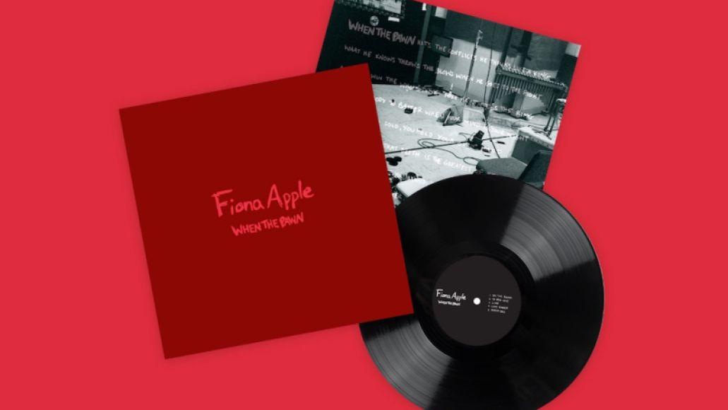 When the Pawn by Fiona Apple cover art album artwork vinyl
