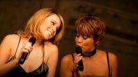 Whitney Houston and Mariah Carey