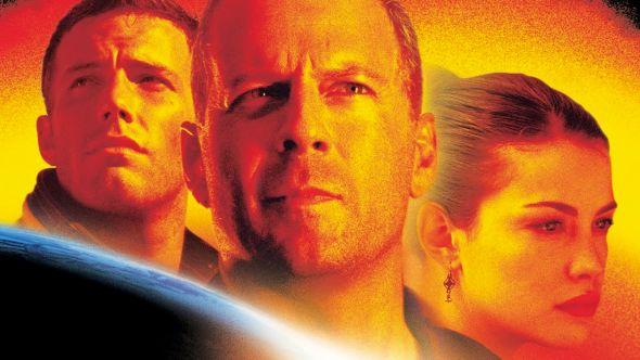 Bruce Willis Wears Armageddon Suit