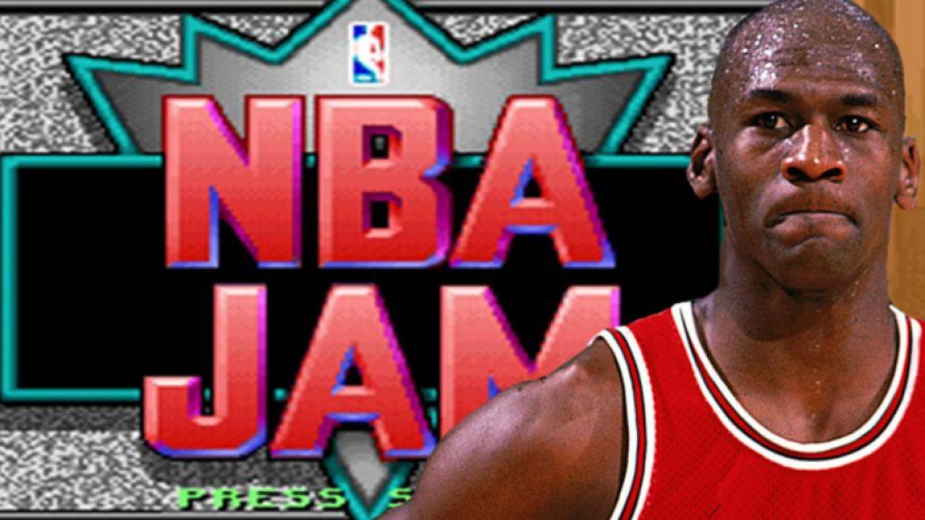 Michael Jordan and NBA Jam