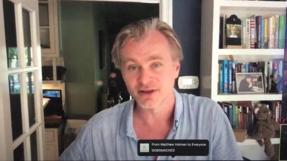 Christopher Nolan NYU Zoom Call
