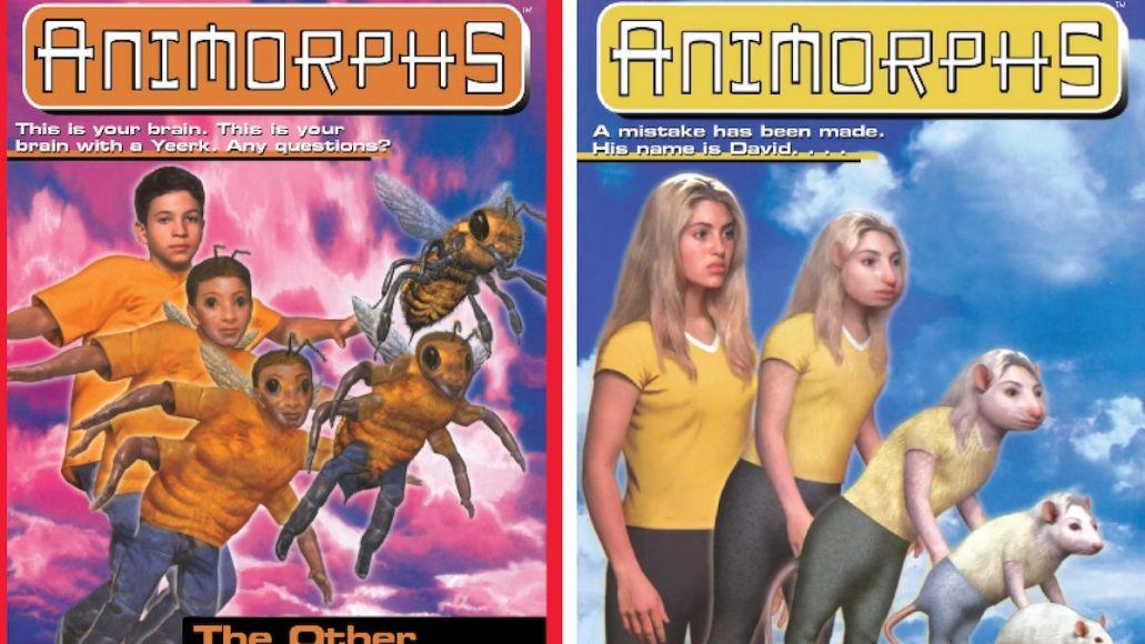 Animorphs film movie book scholastic entertainment erik feig (Scholastic)