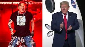 Axl Rose calls Donald Trump repulsive