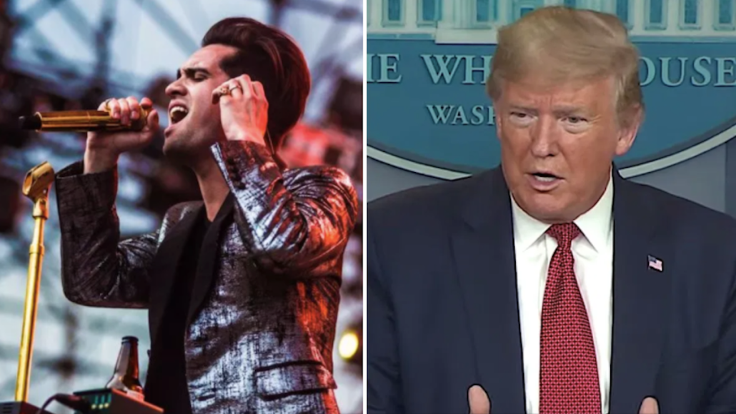 Panic! at the Disco Brendon Urie Tells Trump Campaign Stop Using My Song Fuck You Twitter