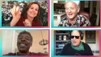 Ghostbusters cast (Josh Gad / YouTube) Ghostbusters reunion livestream Reunited Apart Josh Gad