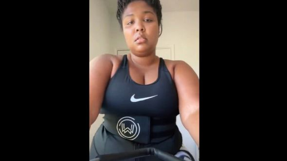 Lizzo's TikTok workout video calling out body-shamers