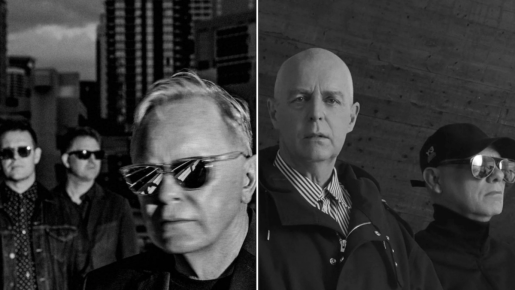 New Order (photo by Warren Jackson) and Pet Shop Boys