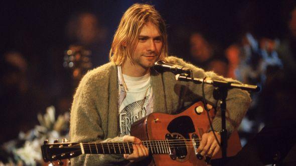 Kurt Cobain guitar Nirvana on MTV Unplugged