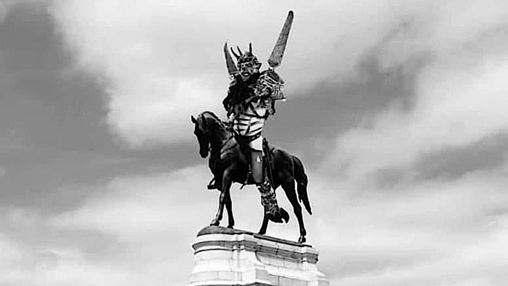 Oderus Statue