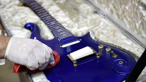 Prince's Blue Angel guitar