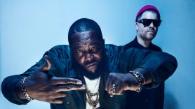 Run the Jewels, photo by Timothy Saccenti