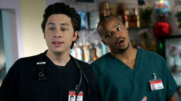 Scrubs blackface episodes removed Hulu show racist (ABC)