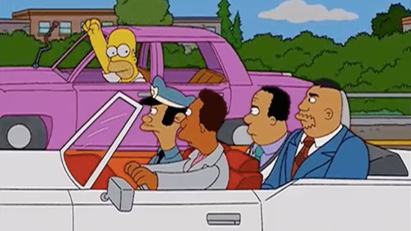 The Simpsons White Actors Characters of Color Non-White Black