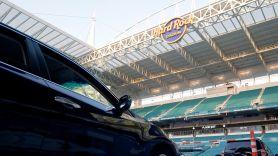 Hard Rock Stadium Turned Into Drive-In