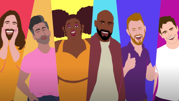 lizzo queer eye soulmate animated music video pride month
