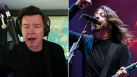 rick astley covers everlong quarantine foo fighters video stream Dave Grohl Joins Inara George For New Version Of Sex In Cars: Stream