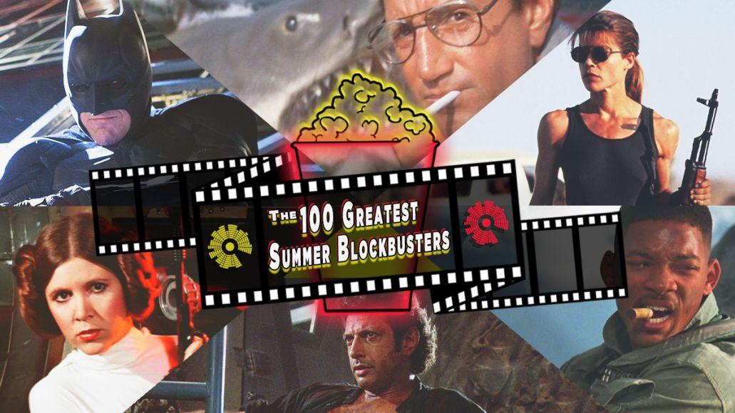 100 Greatest Summer Blockbusters, artwork by Ben Kaye