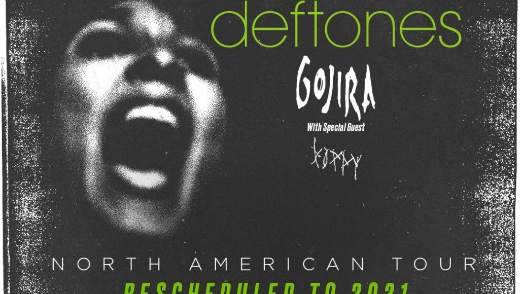 Deftones 2021 tour admat