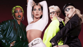 Dua Lipa with Missy Elliott, Blessed Madonna, and Madonna