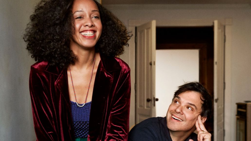 Dirty Projectors Lose Your Love remix new music stream Jimmy Douglass The Senator Felicia Douglass and Dave Longstreth of Dirty Projectors, photo by Jason Frank Rothenberg