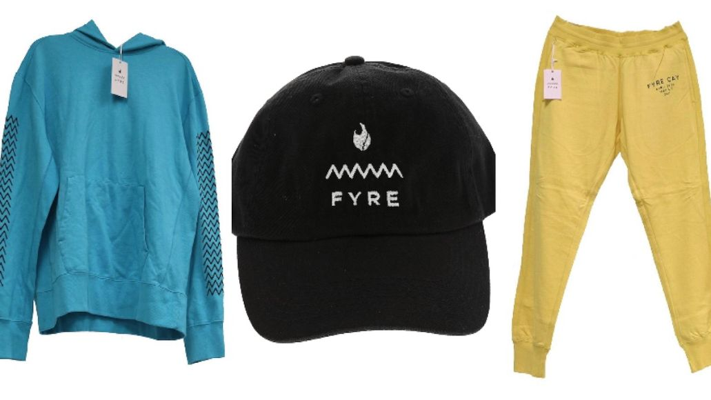 Fyre Festival merch auction Fest