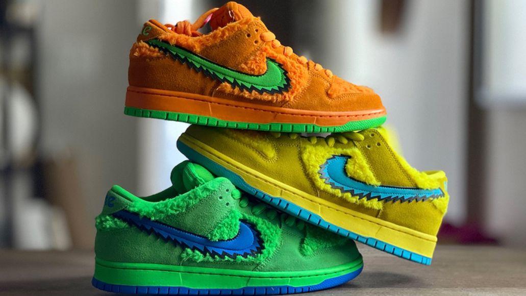 "Grateful Dead ""Dancing Bears"" Nike SB Dunk Low (Nike)"