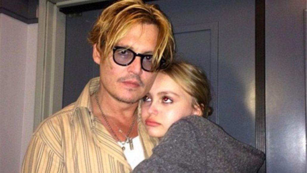 Johnny Depp pot weed court libel daughter Lily-Rose Depp (Instagram)