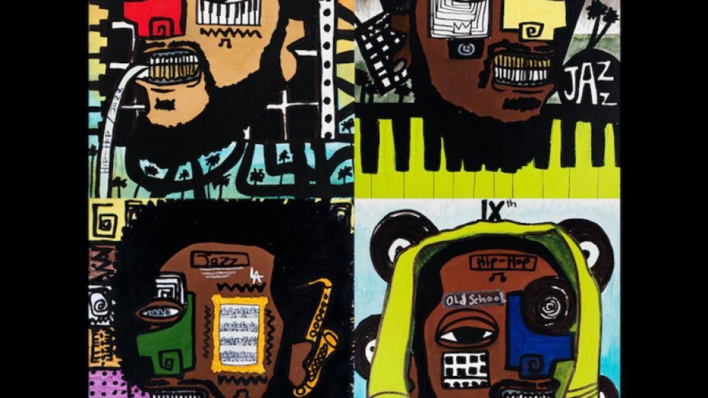 Kamasi Washington, Robert Glasper, Terrace Martin, and 9th Wonder are Dinner Party, Artwork by Amani Washington