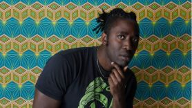 Kele Melanin Bloc Party Kele Okereke solo new music, photo by Asia Werbel