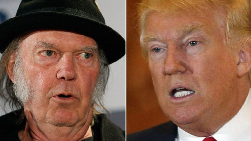 Neil Young Lookin' for a Leader new music stream 2020 and Donald Trump