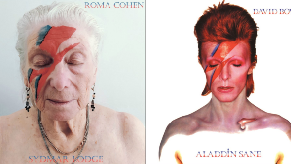 Rocking Seniors Recreate Album Covers David Bowie Adele Blink 182 Taylor Swift Bruce Springsteen
