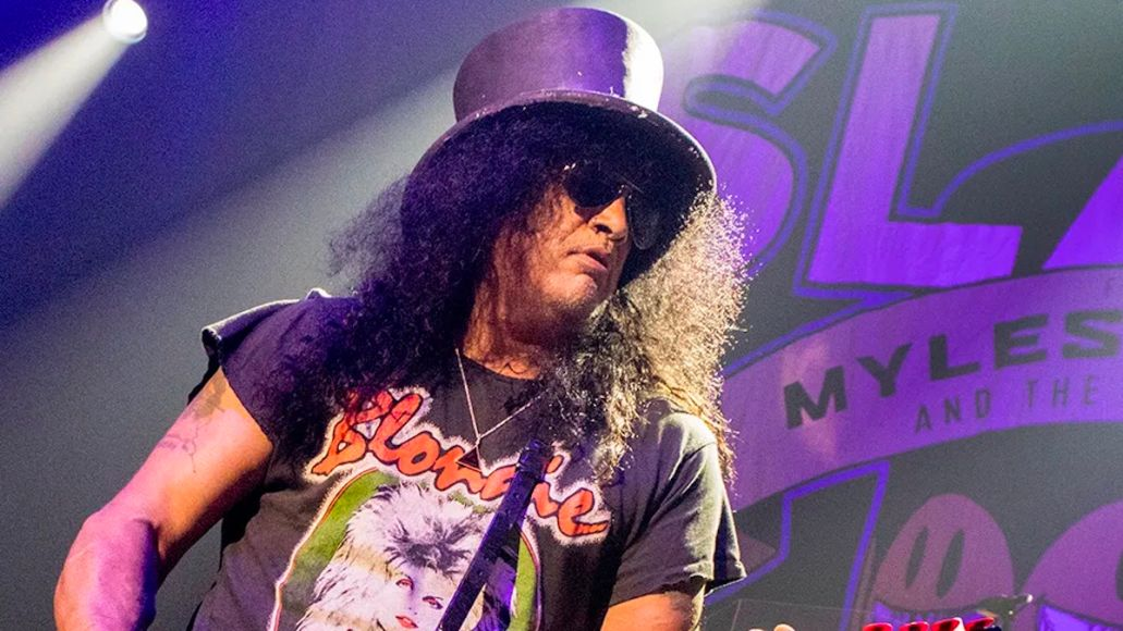 Slash working on new GN'R music