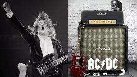 acdc giveaway angus young gibson gear