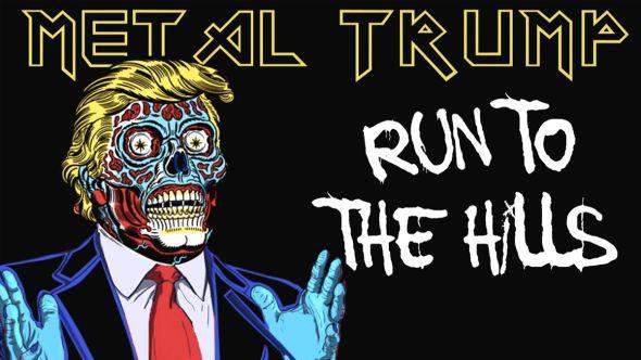 Metal Trump Maiden