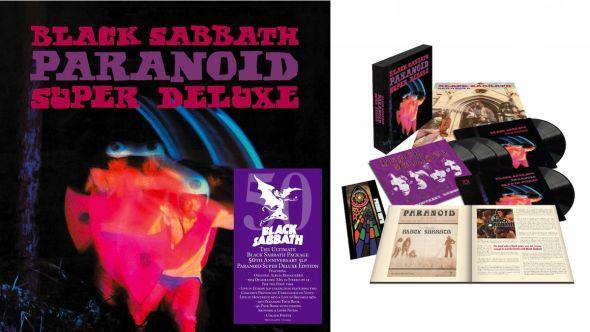 Black Sabbath Super Deluxe Paranoid Vinyl