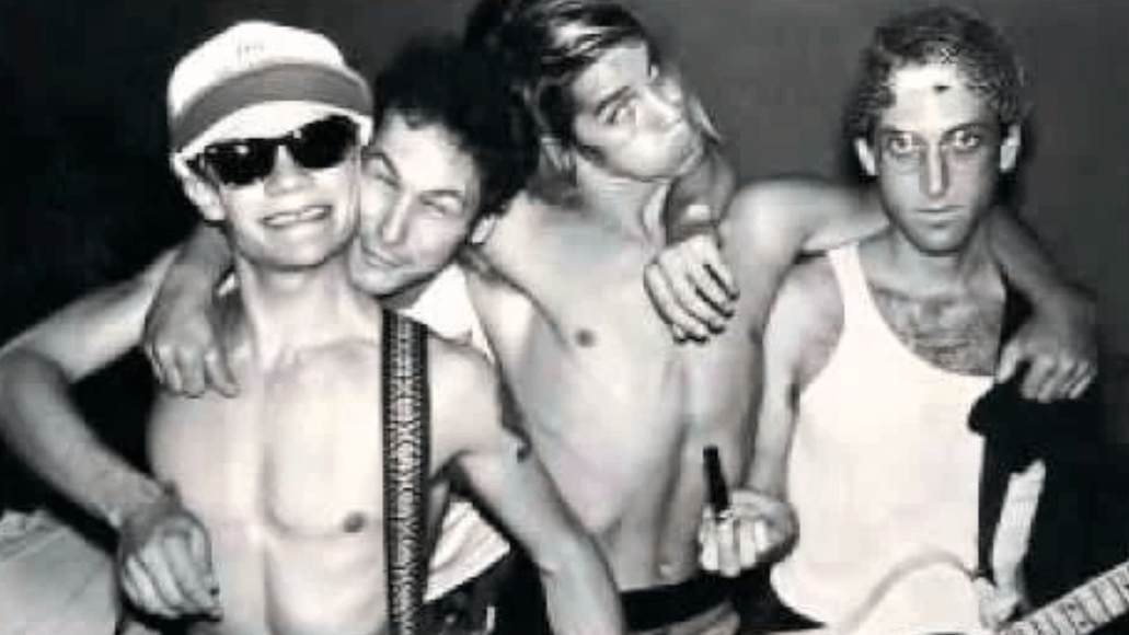 Red Hot Chili Peppers (Jack Sherman, pictured far right)