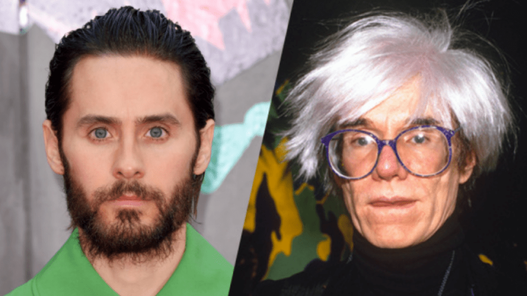 Jared Leto and Andy Warhol