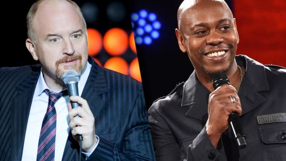 Louis CK and Dave Chappelle