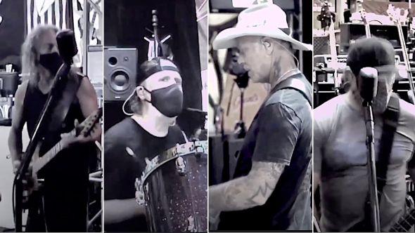 Metallica in studio
