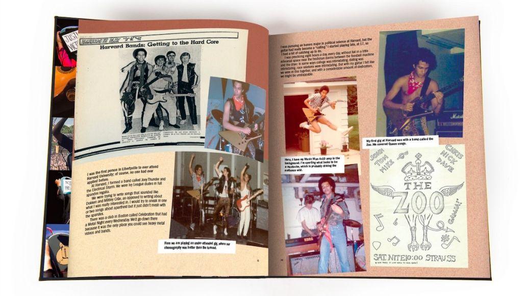 Tom Morello book page