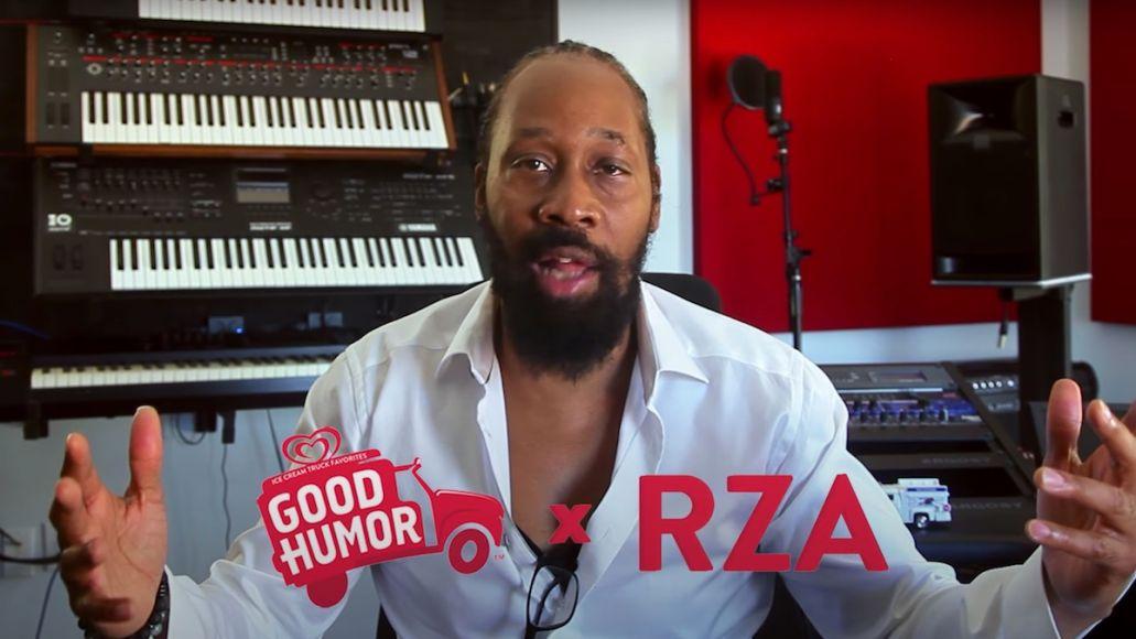 RZA ice cream truck jingle new song Good Humor stream video (YouTube)