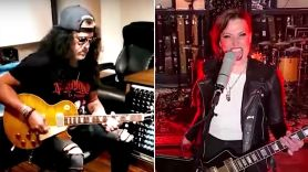 Slash and Lzzy Hale cover songs