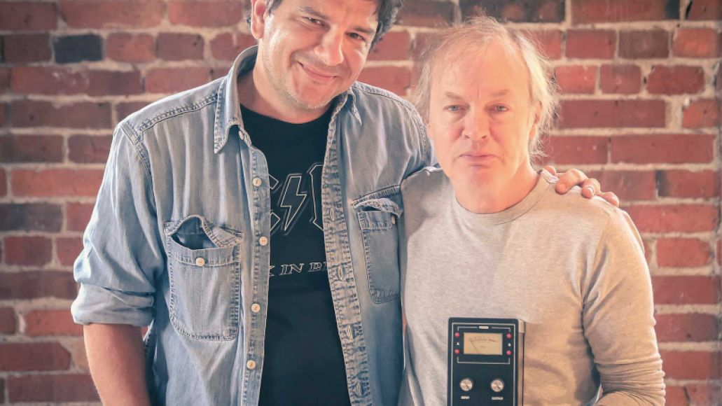 SoloDallas Fil With Angus Meet the AC/DC Superfan Who Unlocked Angus Young's Back in Black Guitar Tone