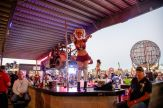 A dancer performs on a bar at the Full Throttle Saloon during the 80th annual Sturgis Motorcycle Rally on Friday, Aug. 14, 2020, in Sturgis, S.D. (Amy Harris)