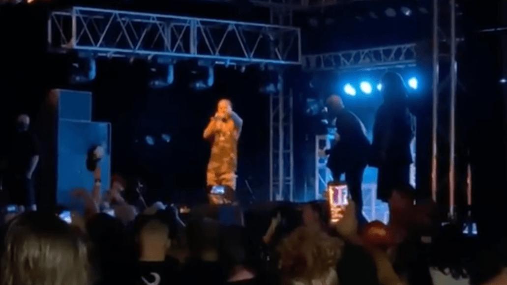 Tech N9ne's concert at the Ozarks
