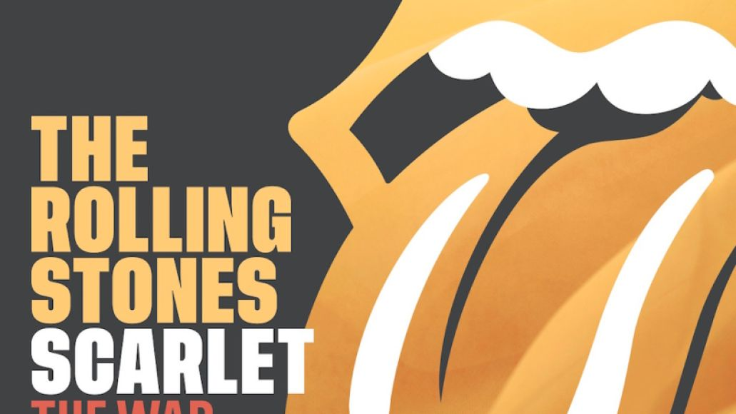 """The Rolling Stones - """"Scarlet"""" (The War on Drugs remix) album artwork cover art"""