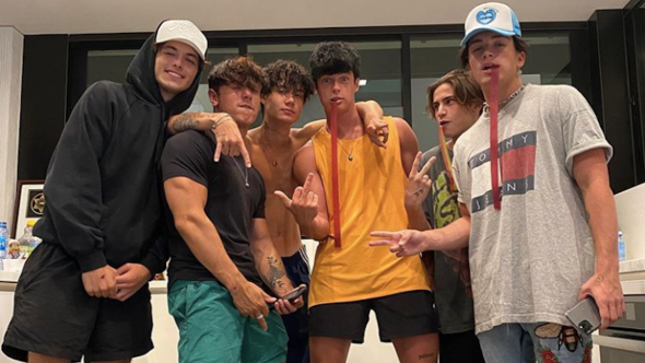 TikTok Party House charges Los Angeles Blake Grey Bryce Hall