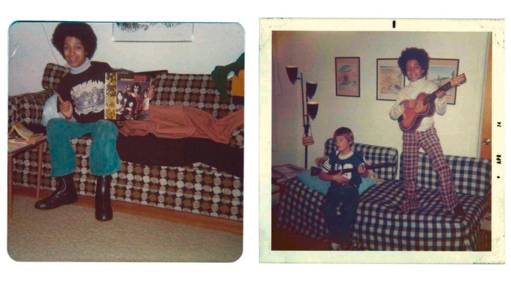 Tom Morello childhood pics